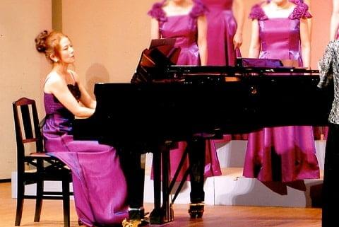 コンサート・コンクールでのピアノ伴奏 イメージ写真