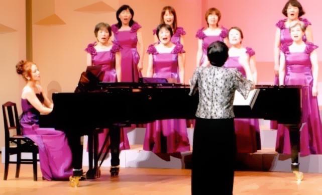 浜松市婦人合唱祭定期演奏会ピアノ伴奏
